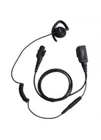 Kit écouteur pivotant + micro PTT HYTERA EHN17