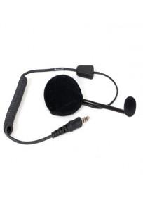 Micro casque Atex hytera POA104-EX