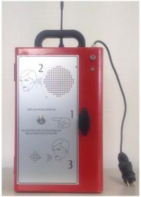 Coffret appel radio