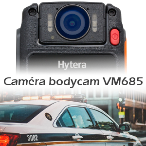 hytera vm685 camera bodycam