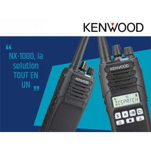 NX-1000, la solution TOUT EN UN de KENWOOD