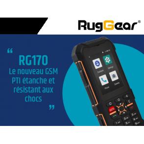 RG170 : GSM PTI étanche et résistant aux chocs